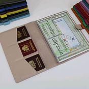 Канцелярские товары handmade. Livemaster - original item Organizer for documents A4 format powder. Handmade.