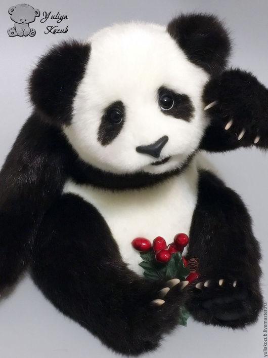 Мишки Тедди ручной работы. Ярмарка Мастеров - ручная работа. Купить Панда. Handmade. Белый
