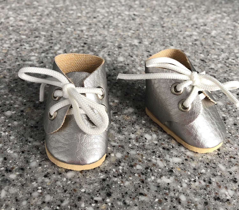 Кукольные ботиночки из экокожи, Одежда для кукол, Москва,  Фото №1