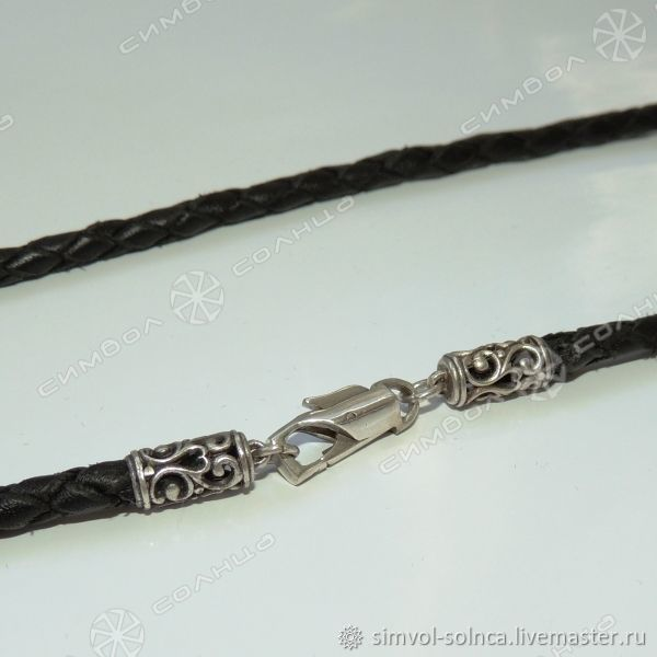 Cord or bracelet Rus (braided, thickness 5 mm), Folk decorations, Sochi,  Фото №1