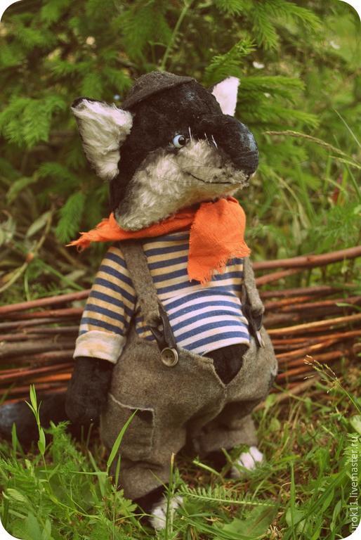 Мишки Тедди ручной работы. Ярмарка Мастеров - ручная работа. Купить Гарик. Handmade. Чёрно-белый, тедди, винтажный плюш