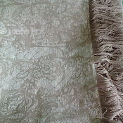 Для дома и интерьера handmade. Livemaster - original item blanket - plaid linen