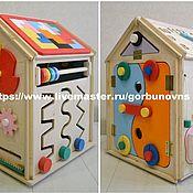 Куклы и игрушки handmade. Livemaster - original item Developing BIZIDOM 6v1
