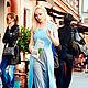 Платья ручной работы. Ярмарка Мастеров - ручная работа. Купить Понт -Авен голубой. Handmade. Голубой, платье в пол