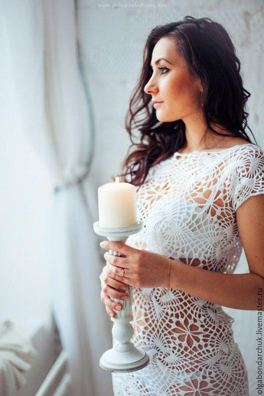 Платья ручной работы. Ярмарка Мастеров - ручная работа. Купить Свадебное  платье с открытой спиной. Handmade. Белый, невеста