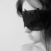 """Аксессуары ручной работы. Ярмарка Мастеров - ручная работа """"Сонная роза"""" маска для сна. Handmade."""