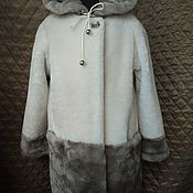 Работы для детей, handmade. Livemaster - original item Children`s fashionable fur coat of Mouton. Handmade.