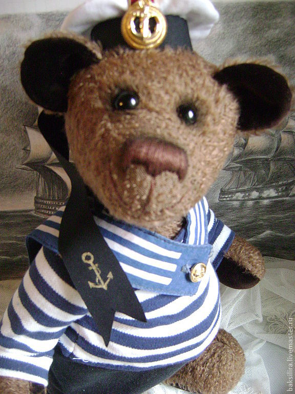 Мишка Тедди Морской Волк, Мишки Тедди, Санкт-Петербург,  Фото №1