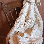 """Одежда ручной работы. Ярмарка Мастеров - ручная работа """"РОМАНТИЧНЫЙ""""  Свитер-платье. Handmade."""