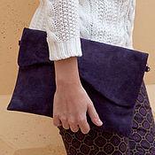 Сумки и аксессуары handmade. Livemaster - original item Clutch bag genuine leather art.394. Handmade.