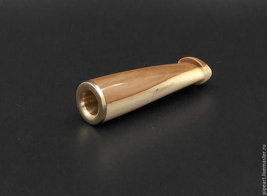 Подарки для мужчин, ручной работы. Ярмарка Мастеров - ручная работа. Купить Мундштук 1-36 Мамонт. Handmade. Золотой, латунь