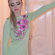 """Одежда ручной работы. Ярмарка Мастеров - ручная работа Платье""""Розовые цветы"""". Handmade."""