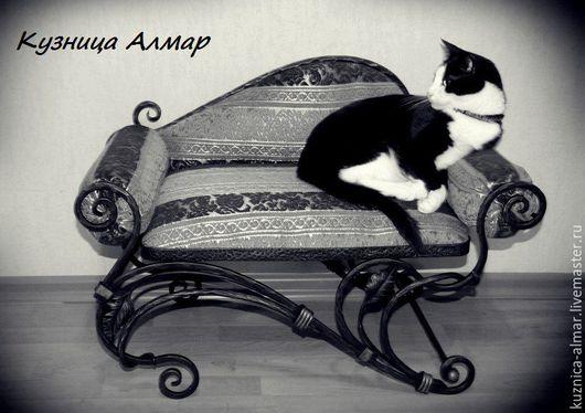 Аксессуары для кошек, ручной работы. Ярмарка Мастеров - ручная работа. Купить кованый диван. Handmade. Художественная ковка, для кошек