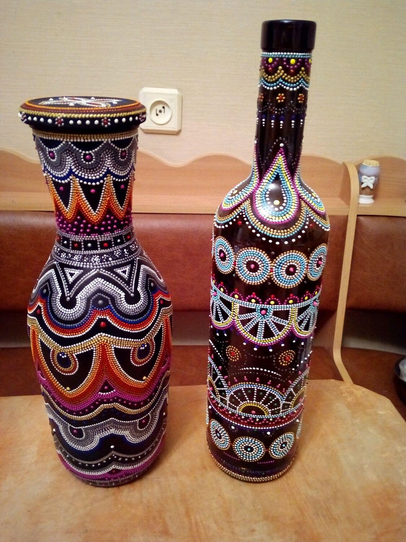 Бутылочки#вазы#, Вазы, Новосибирск,  Фото №1