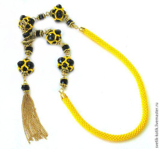 украшение, украшение на шею, украшение на каждый день, праздничное украшение, колье, бусы, сотуар, ожерелье, украшение жёлтое, украшение, стильное украшение, вечернее украшение, летнее украшение