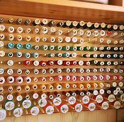 Материалы для творчества handmade. Livemaster - original item Stand Stand organizer thread. Handmade.