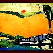 """Картины и панно ручной работы. Ярмарка Мастеров - ручная работа Картина """"Июльское утро"""". Handmade."""