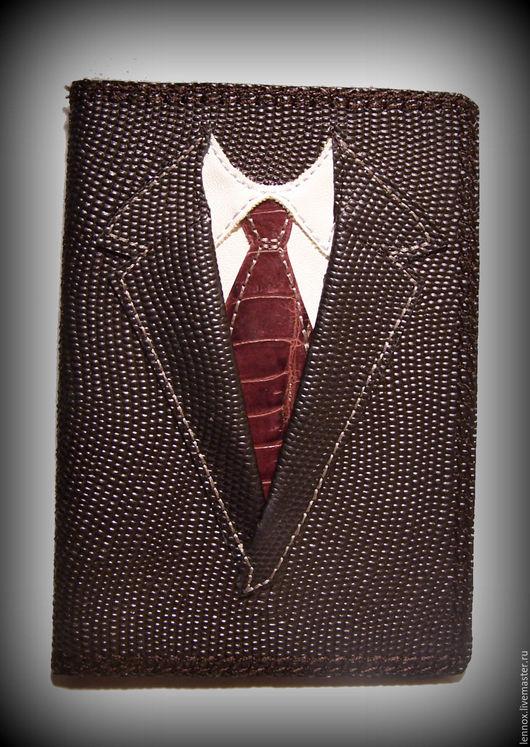 Обложки ручной работы. Ярмарка Мастеров - ручная работа. Купить Обложка для паспорта Настоящий мужчина. Handmade. Обложка для паспорта