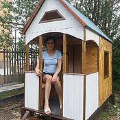 Для дома и интерьера ручной работы. Ярмарка Мастеров - ручная работа Детский стационарный домик. Handmade.