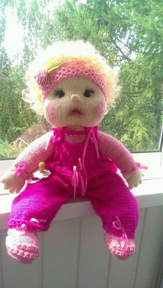 Одежда для кукол ручной работы. Ярмарка Мастеров - ручная работа. Купить куклы ручной работы. Handmade. Бежевый, пряжа