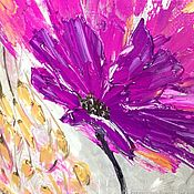 handmade. Livemaster - original item Oil painting, painting mastichina