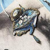 """Подвеска ручной работы. Ярмарка Мастеров - ручная работа НА ЗАКАЗ! """"Мечта о полете"""".Фэнтези - кулон в стиле Ар-нуво.. Handmade."""