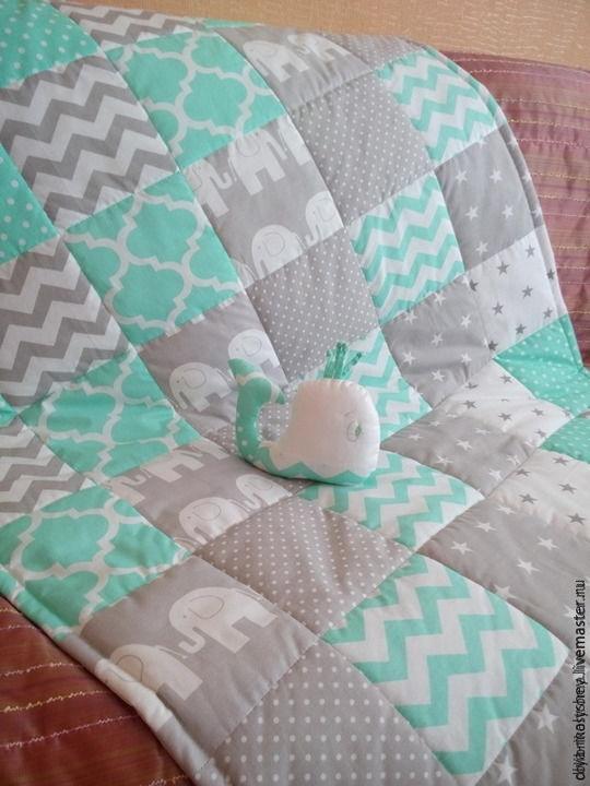 Детские лоскутные одеяла и для новорожденных своими руками