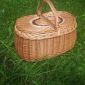 Корзины ручной работы. Ярмарка Мастеров - ручная работа Корзина для пикника. Handmade.