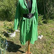 handmade. Livemaster - original item Shades of green Kuindzhi. Frock Coat/Coat. Vintage.. Handmade.