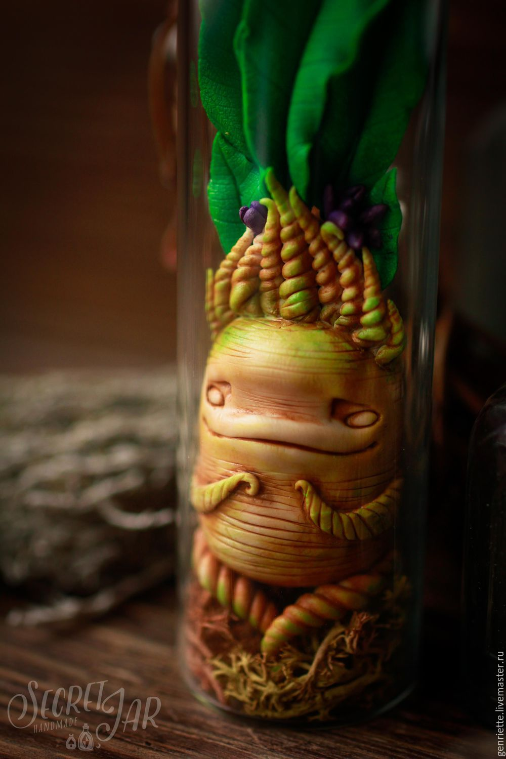 Mandragora in the jar, Stuffed Toys, Moscow,  Фото №1