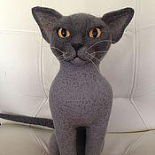 Куклы и игрушки ручной работы. Ярмарка Мастеров - ручная работа Кошка , порода Бурма. Handmade.