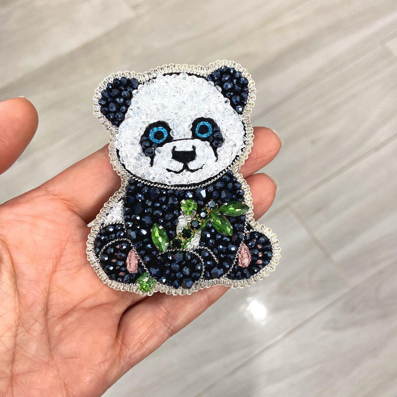 Panda Brooch, Brooches, Moscow,  Фото №1