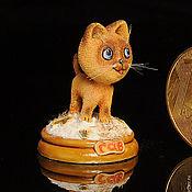 Куклы и игрушки ручной работы. Ярмарка Мастеров - ручная работа Котёнок Гав. Handmade.
