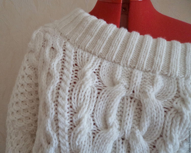 Объемный пуловер доставка
