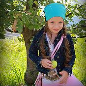 """Работы для детей, ручной работы. Ярмарка Мастеров - ручная работа Шапка для девочек """"Мисс Переменчивость"""". Handmade."""