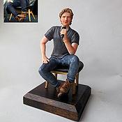 Куклы и игрушки ручной работы. Ярмарка Мастеров - ручная работа портретная фигурка Дин О Горман. Handmade.