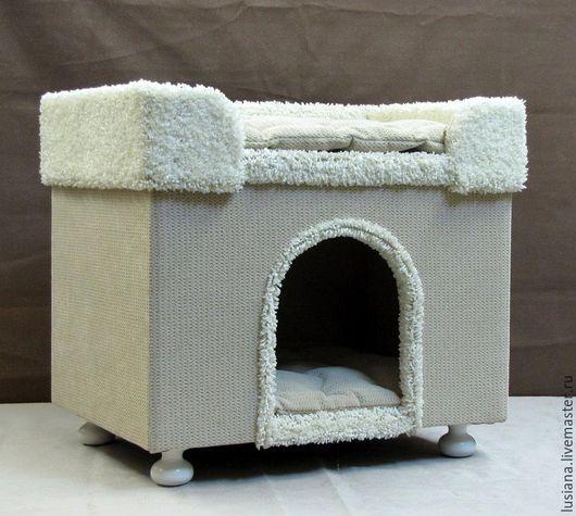 Аксессуары для собак, ручной работы. Ярмарка Мастеров - ручная работа. Купить Домик для собаки или кошки купить.. Handmade.