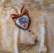 """Подарки к праздникам ручной работы. Ярмарка Мастеров - ручная работа Интерьерное сердце """"Любимец"""". Handmade."""
