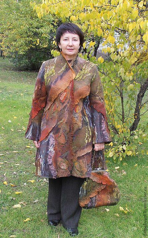 """Верхняя одежда ручной работы. Ярмарка Мастеров - ручная работа. Купить Пальто """"Сказочный лес"""". Handmade. Пальто, Осеннее пальто"""