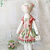 """Куклы и игрушки ручной работы. Ярмарка Мастеров - ручная работа Кошка """"Я хочу укрыться лепестками роз"""". Handmade."""