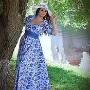 Одежда handmade. Livemaster - original item Long dress
