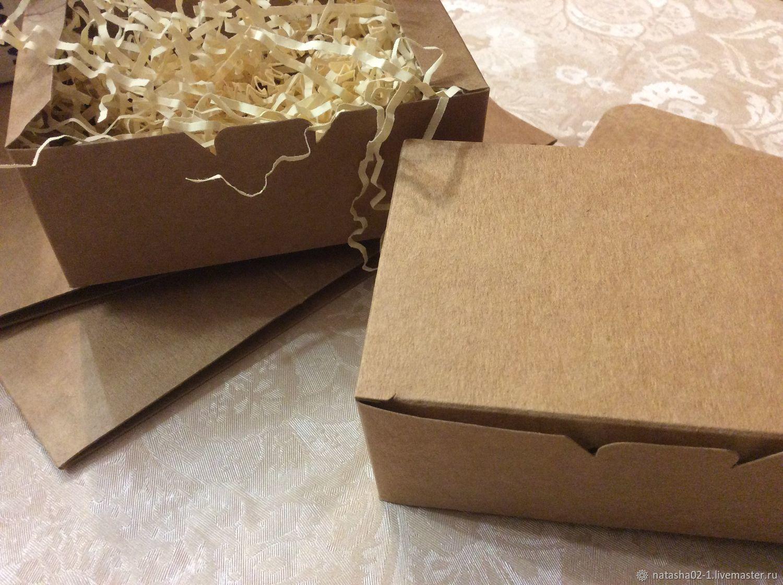 Как сделать крафт коробку 676