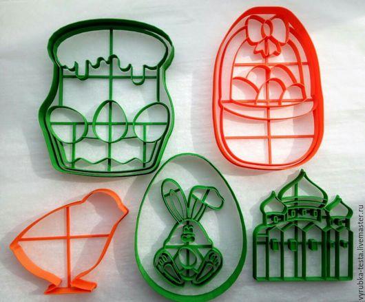 Кухня ручной работы. Ярмарка Мастеров - ручная работа. Купить Пасха 1- вырубки для печенья, пряников, мастики. Handmade. Комбинированный