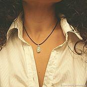 Фен-шуй и эзотерика handmade. Livemaster - original item Femininity - the Amulet of berkana (silver). Handmade.