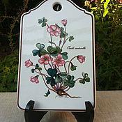 Винтаж handmade. Livemaster - original item Porcelain Board