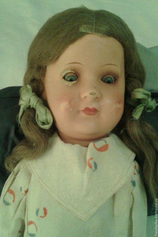 Реставрация. Ярмарка Мастеров - ручная работа. Купить Антикварная фарфоровая кукла Арманд Марсель 449 1930г. Handmade. Комбинированный