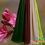 """Одежда ручной работы. Ярмарка Мастеров - ручная работа Макси юбка 8-клинка """"Бутон"""". Handmade."""