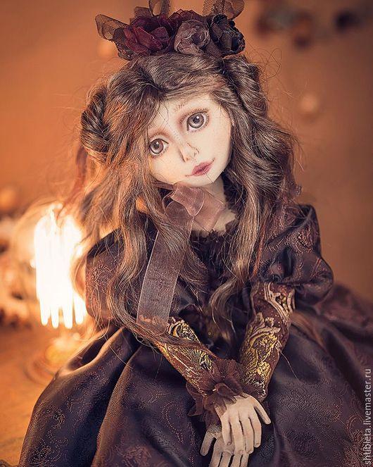 Коллекционные куклы ручной работы. Ярмарка Мастеров - ручная работа. Купить Кукла Полин.. Handmade. Комбинированный, авторская кукла, пятигорск