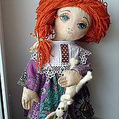 Куклы и игрушки ручной работы. Ярмарка Мастеров - ручная работа Кукла Соня с зайчиком. Handmade.