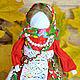 """Народные куклы ручной работы. Кукла-оберег """"Успешница"""" (Удачница). Елена Сидорова (ТМ 'СЕлена'). Ярмарка Мастеров. Кукла текстильная"""